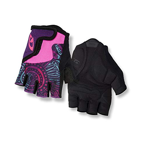 Giro Bravo Jr Youth Road Cycling Gloves - Blossom (2021), Large