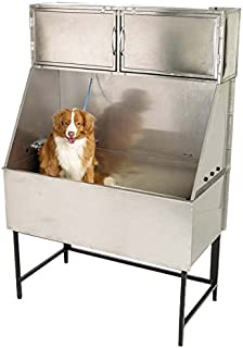 Master Equipment Stainless Steel Deluxe Overhead Cabinet for Grooming Tubs