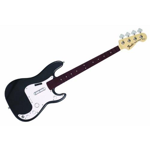 Basse Fender Precision Rock Band 3 sans fil - Noir métal
