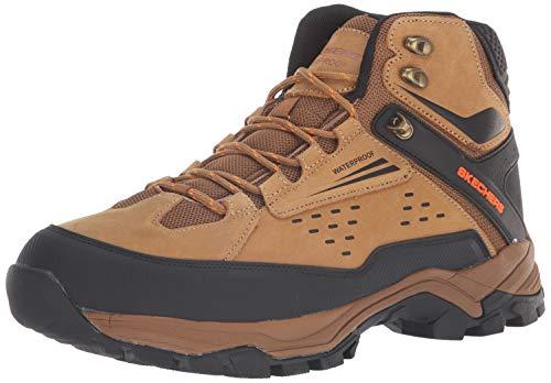 Skechers Men's POLANO-Norwood Hiking Boot, cml, 10 Medium US