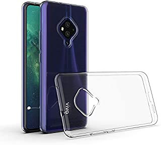Prime Retail Back Case Cover for Vivo S1 Pro [Protective + Anti Shockproof CASE], Vivo S1 Pro Back Cover Case -Prime Retail Transparent Case