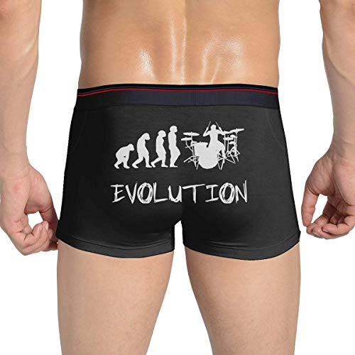 Pillow Socks Drummer Evolution Herren Boxer Slips Atmungsaktive Unterwäsche Flex Bund für Herren und Jungen XL