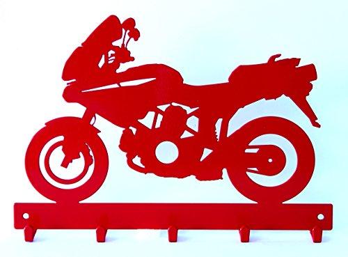 Cornali Appendi Chiavi appendichiavi Moto Tipo Maxi Enduro 2V 1000. Prodotto artigianalmente in Italia.