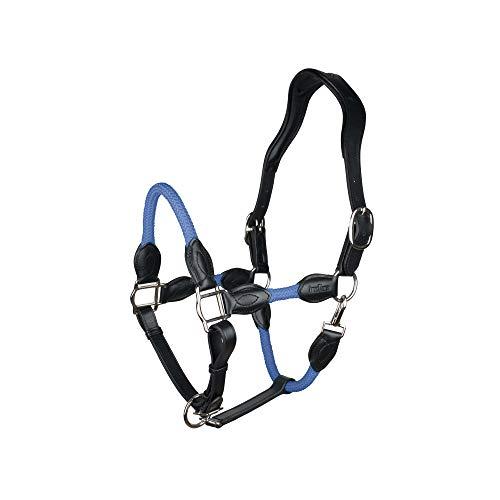 indira Cabestro de cuerda de cuero de polipropileno (pony, azul 01)