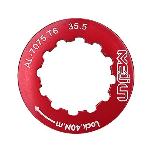 Cassette ghiera per 7-11 Velocità Bici Montagna(Rosso)