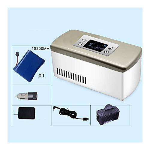 Lfsp Minikühlschrank Insulin kleine tragbare Kühlschränke, groß Aufbewahrungsbo Medikamente, medizinische Kühlschränke, batteriebetriebenen, for Autos, Reisen, die Verwendung von Camping