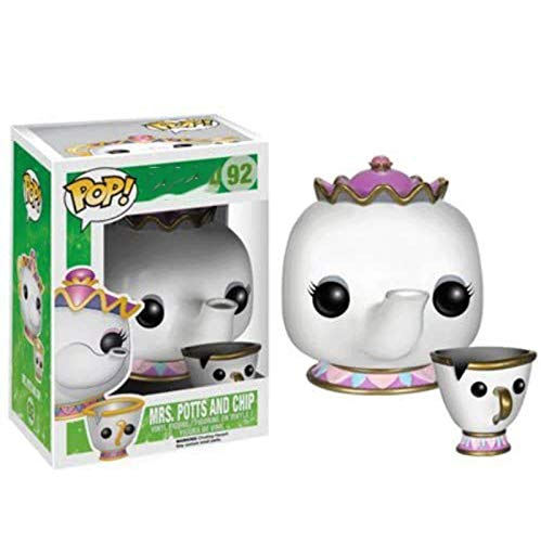 Funko Beauty and The Beast #92 Mrs.Potts and Chip for Boy