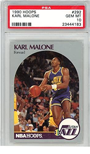 1990 HOOPS 292 KARL MALONE PSA 10 23444183