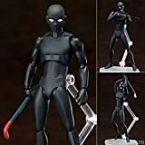 QTRT Detective Conan hombre en la serie de caracteres prisionero negro articulado muñeca...