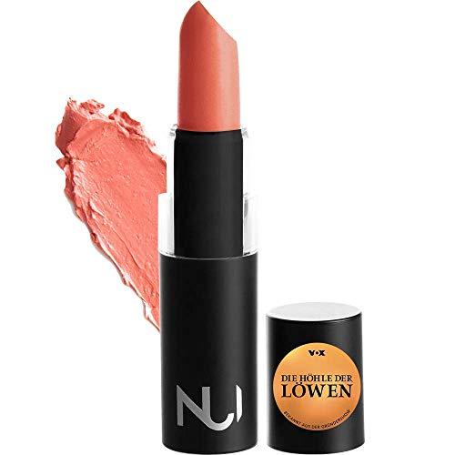 NUI Cosmetics Naturkosmetik vegan natürlich glutenfrei - Natural Lipstick EMERE Lippenstift mit warmerm Korall Orange Farbton