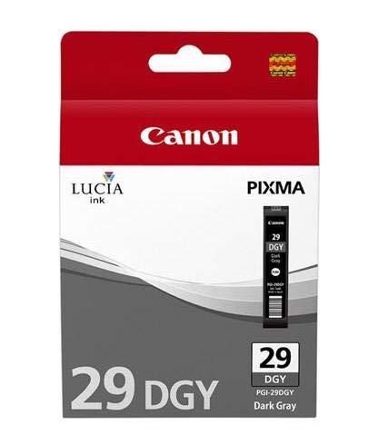 Original Canon 4870B001 / PGI-29DGY Tinte (Dunkelgrau, ca. 710 Seiten) für Pixma Pro 1