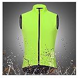 Chaleco de seguridad reflectante de alta visibilid Capa de bicicleta de MTB reflectante de luz, chaqueta de ciclismo a prueba de viento para bicicleta deportiva bicicleta de montaña jersey chalecos de