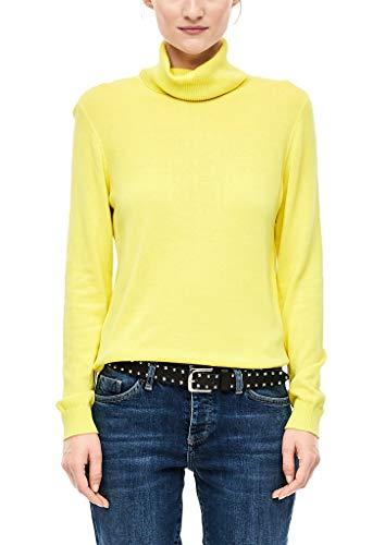 s.Oliver Damen 05.911.61.7016 Pullover, Gelb (Yellow 1184), (Herstellergröße: 38)