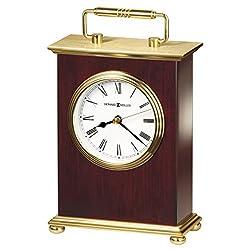 Howard Miller 613-528 Rosewood Bracket Table Clock