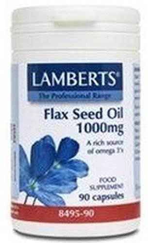 Aceite de Semillas de Lino (Flax Oil) 90 cápsulas de 1000 mg...