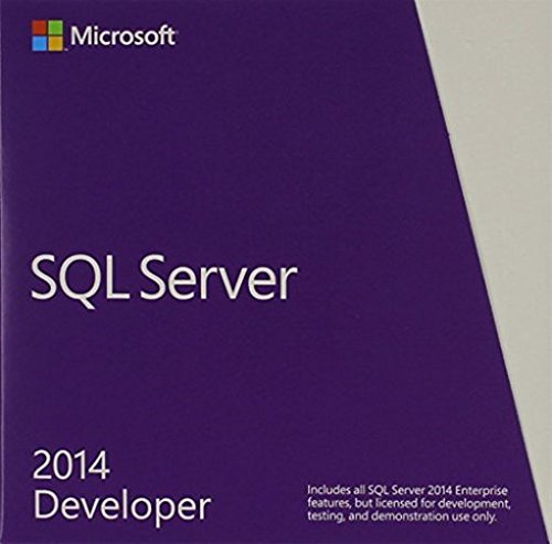 SQL Server Developer Edition 2014 English US Only DVD 1 Clt