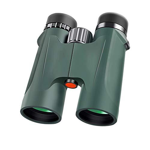 XJRHB HD High Power Low Light Nachtsicht Wasserdichtes Fernglas Profi-Portable (Farbe : Green)