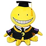 Enhopty Classroom Plush Toy Funny Stuffed Plushie Doll for Anime Fans Kids 11.8in