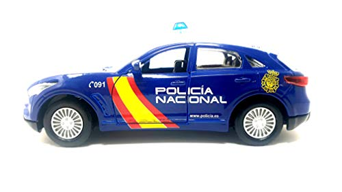 PLAYJOCS GT-0233 Coche POLICÍA Nacional