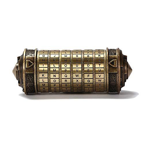 Da Vinci Code, Mini Cryptex For Christmas Valentine's Day Most románticos creativos Interesting Birthday Gifts For Boyfriend and Girlfriend Brain Teaser Lock Puzzles