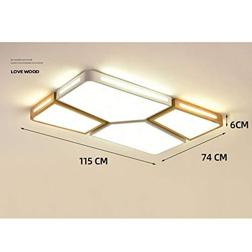 Lámpara de Iluminación Superior 4x Pantalla De Tela Luz Montaje UP encendedor Salón Decoración del hogar
