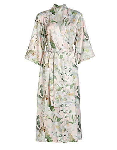 ESSENZA Kimono Ilona Rosalee Blumen Polyester Satin Rosa, XXL