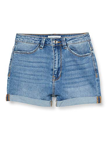 Pimkie Jes20 Nshhfirst Shorts y Bermudas para Mujer, Jean Stone, 32