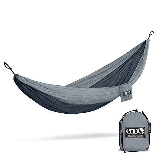 ENO, Eagles Nest Outfitters DoubleNest Lightweight Camping Hammock, 1 to 2 Person...