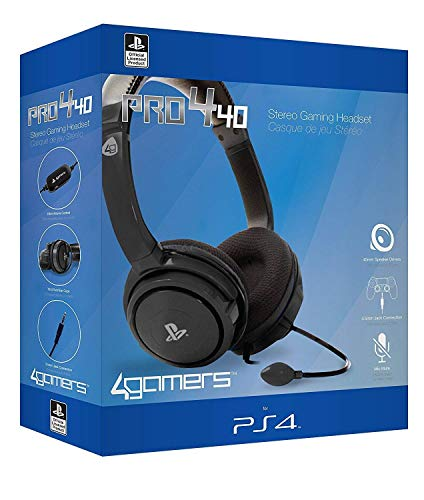 PRO4-40 – Stereo Gaming Headset - schwarz