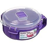 Sistema - tazón para desayuno para microondas, 850 ml, varios colores