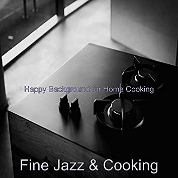 Happy Background for Home Cooking