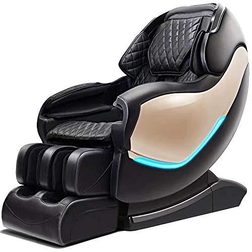 GXY Intelligent Elektrisch Sofa Sl Leiten Schiene Manipulator Ganze Körper Platz Kabine Haushalt Multifunktionales Luxus Massage Stuhl Bürostühle Mit Armlehnen/Schwarz