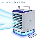 LAZCOZY mini Ventilador Humidificador Purificador Aire Acondicionado portátil de [Vhool-EU]...