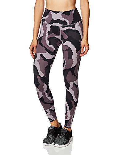 Under Armour Damen Legging Rush Camo Leggings, Slate Purple/Black/Iridescent (585), M, 1360564-585