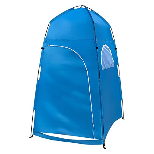 ZYF Portable Outdoor Shower Bath Changing Room Tent Shelter Camping Beach Privacy Toilet Tents Tent,Blue