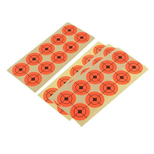 SM SunniMix 20pcs Pfeile Zielscheibe Bogenschiessen Scheibenauflage Papierauflage Set