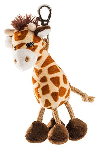 Schaffer 0238 Giraffe Anhänger, unisex-child, Braun, ca. 13 cm