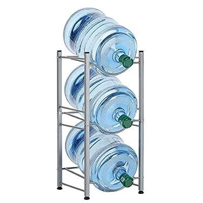 LIANTRAL Water Jug Holder, 5 Gallon Water Cooler Bottle Storage Rack Detachable Heavy Duty Water Bottle Buddy Rack by LIANTRAL