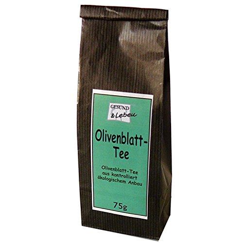 Gesund & Leben Bio Olivenblatt Tee lose 1er Pack (1 x 75 g)