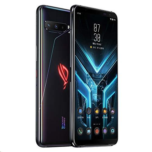 Asus ROG Phone 3 5G (ZS661KS) 12GB+128GB (經典版,Tencent Ver.) Qualcomm Snapdragon 865+、Global ROM、 Google Play 対応、日本語対応、SIMフリー Dual SIM (Black/ブラック)