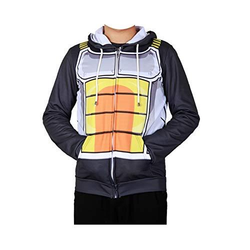 GJBXP Trockene Kleidung Dragon Ball Z Goku Vegeta Cosplay Bodybuilding-Kostüm Dünne Kleidung Enge Sportbekleidung Fleece S KID