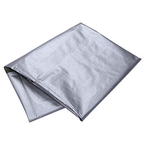 Zelte WP@ Silbernes Starkes Hochleistungsmaterial, wasserdicht, groß für Planen-Überdachungs, Boot, RV oder Pool-Abdeckung, schützen, Flachbett, Brennholz oder Dach
