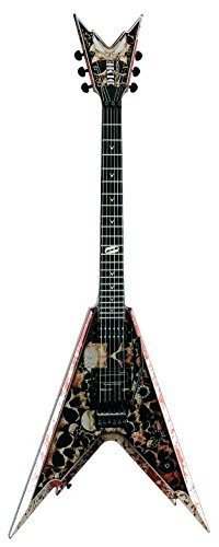 Dean Guitars Razorback V Signature Dimebag darell guitarra eléctrico negro