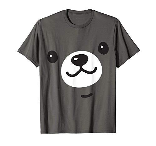 Camisa de disfraz de oso lindo Halloween mujeres niños Camiseta