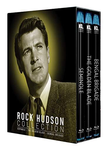 Rock Hudson Collection [Seminole / The Golden Blade / Bengal Brigade] [Blu-ray]