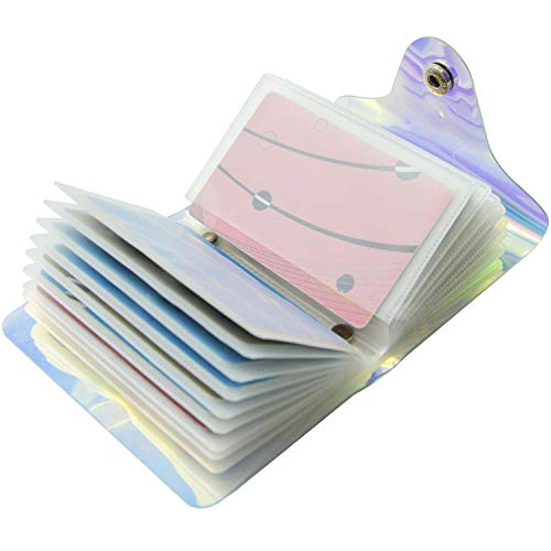 Láser Transparente Tarjeteros para Tarjetas de Credito Mujer Hombre 36 Tarjetas 20 Tarjetas (20 Tarjetas)