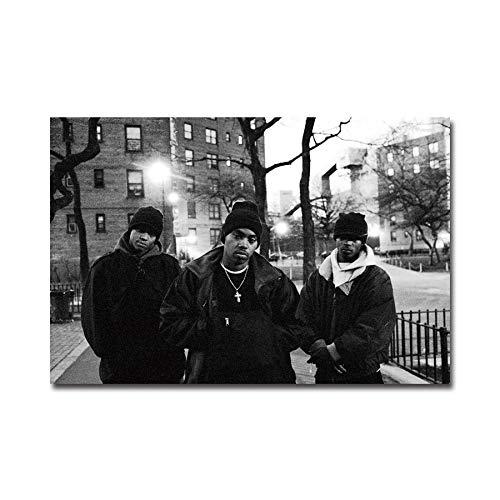 RUIYAN Leinwandbilder Wandkunst Bild NAS Zeit Ist Illmatic Rap Hip Hop Star Poster PrintCanvas Bilder Ohne Rahmen 40 * 60 cm