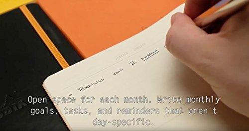 Rhodia Goalbook Journal, A5, Dotted - Iris Photo #8