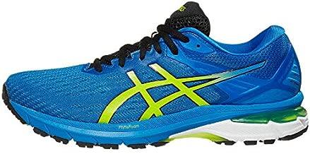 ASICS Men's GT-2000 9 Running Shoes, 10.5, Directoire Blue/Lime Zest