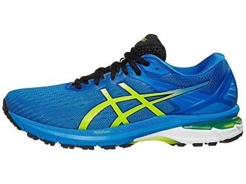 ASICS Men#039s GT2000 9 Running Shoes 105M Directoire Blue/Lime Zest
